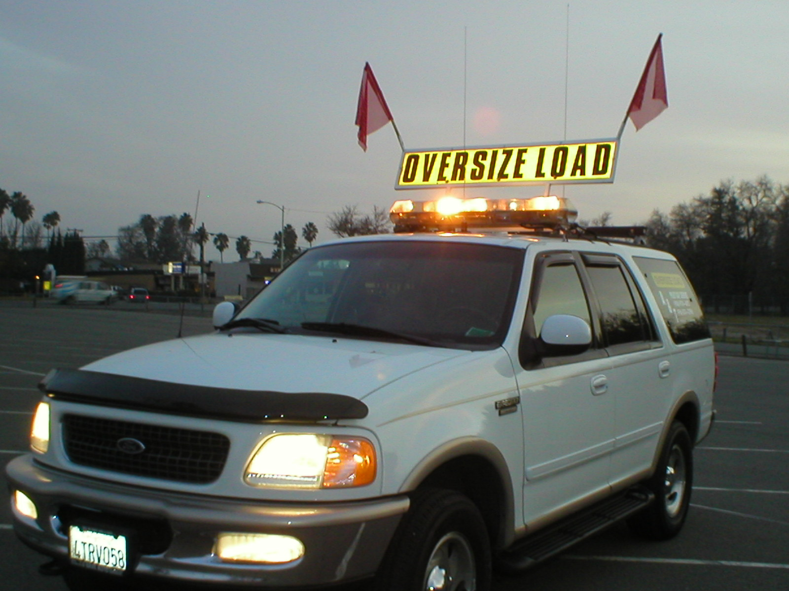 Extralegal truck permit